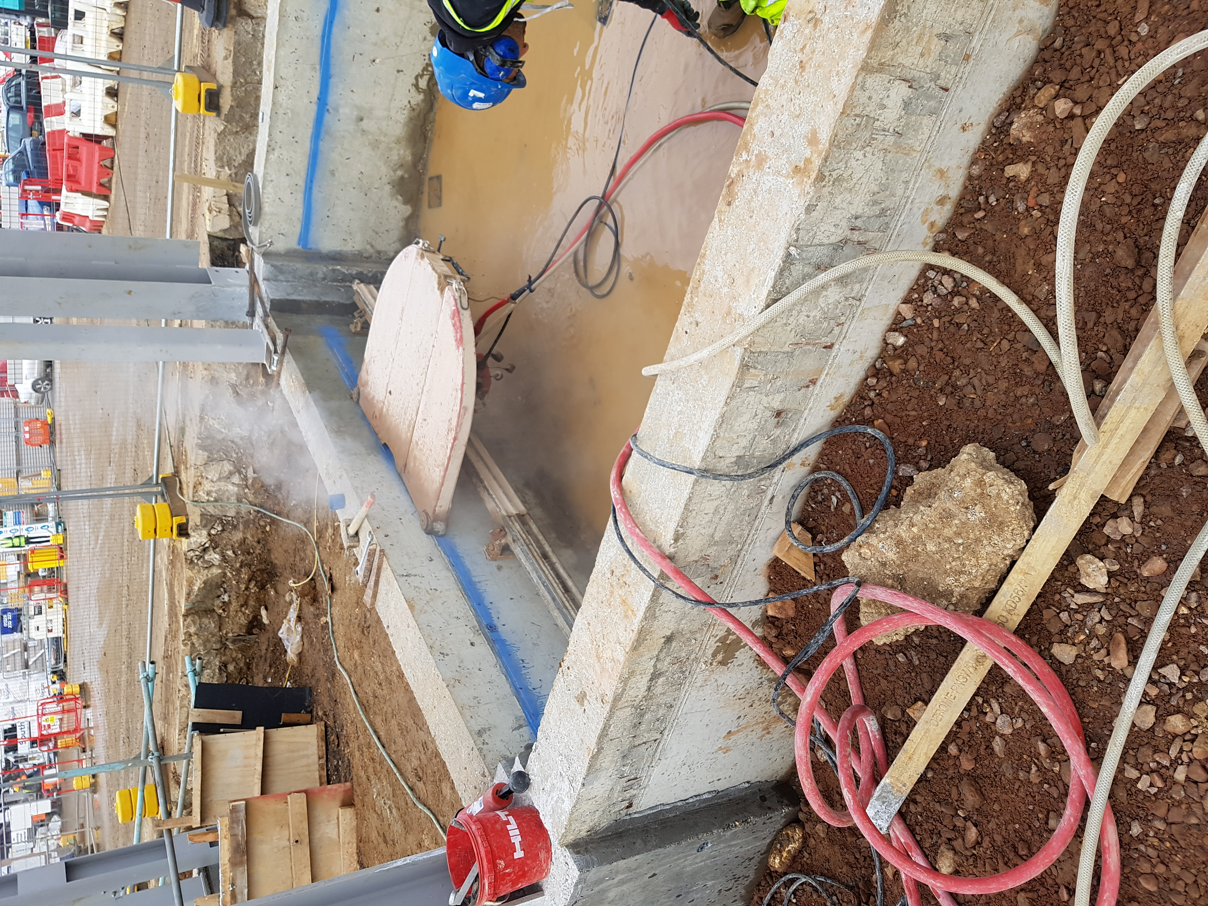 Case Studies Recent Projects Drilltec Limited Threephase Electrical Wiring Installation In A Multistory Building Works Carried Out At Luton Airport